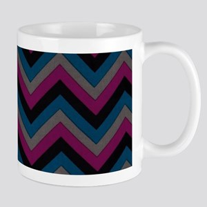 Dark Masculine Colored Jags Mugs