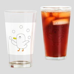 Egg Juggler Drinking Glass