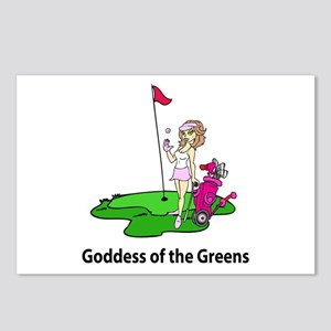 Goddess of Golf Postcards (Package of 8)