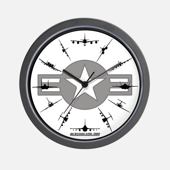 Cool Pilot Wall Clock
