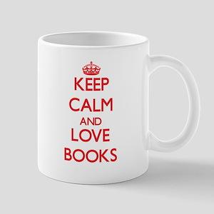 Keep calm and love Books Mugs
