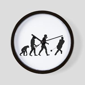 Hammer Thrower Evolution Wall Clock