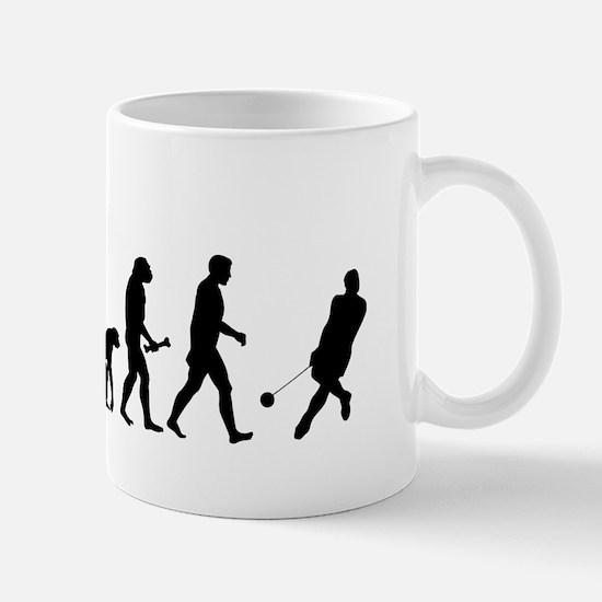 Hammer Thrower Evolution Mugs