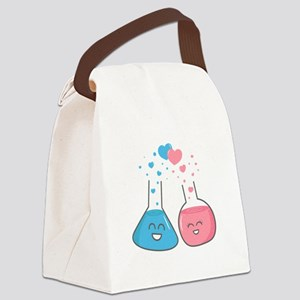 Cute flasks in love, weve got chemistry Canvas Lun