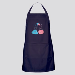 Cute flasks in love, weve got chemistry Apron (dar