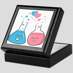 Cute flasks in love, weve got chemistry Keepsake B