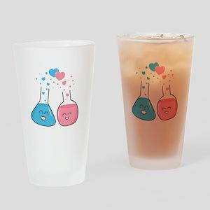 Cute flasks in love, weve got chemistry Drinking G