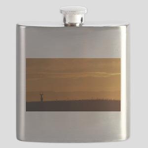 Mule Deer Point Reyes National Seashore Flask