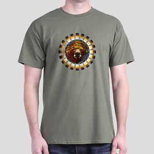 BEAR PRIDE/GLASS BEAR Dark T-Shirt