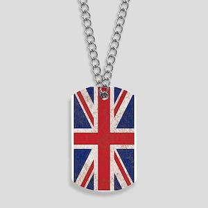 UK British Flag Union Jack Dog Tags