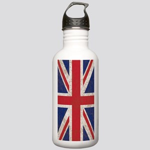UK British Flag Union  Stainless Water Bottle 1.0L