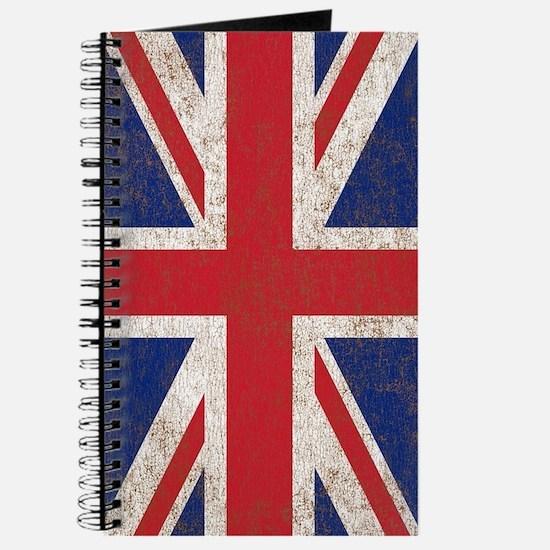 UK British Flag Union Jack Journal
