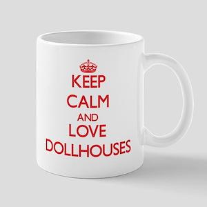 Keep calm and love Dollhouses Mugs