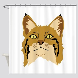 Bobcat Shower Curtain