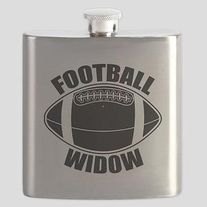 Football Widow Flask