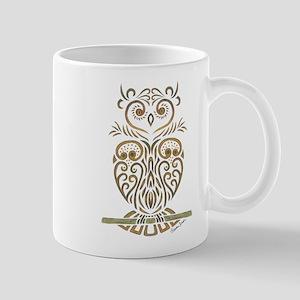 Tribal Owl Mugs