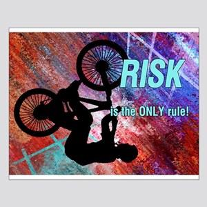 BMX Rusty Grunge Risk is Only Rule Posters