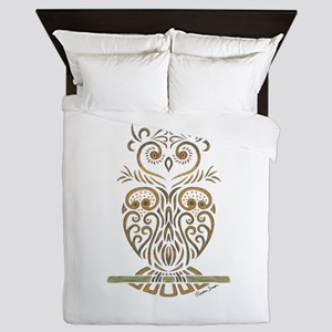 Tribal Owl Queen Duvet