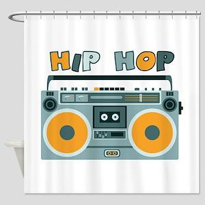HIP HOP Shower Curtain