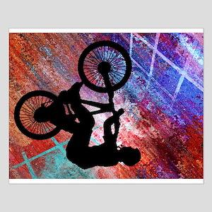 BMX Rusty Grunge Posters