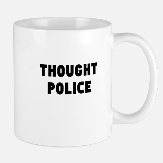 THOUGHT POLICE Mugs