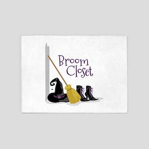 Broom Closet 5'x7'Area Rug