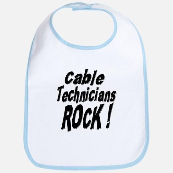 Cable Techs Rock ! Bib