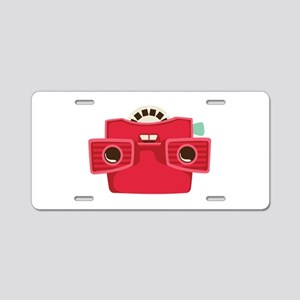 View Finder Aluminum License Plate