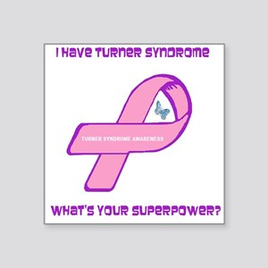 Turner Syndrom Awareness Sticker