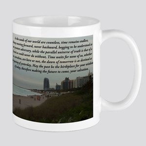 Time Stands Still For None Mugs