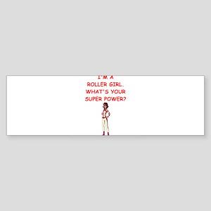 ROLLERDERBY Bumper Sticker