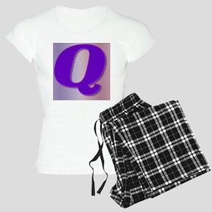 Purple Q Monogram Women's Light Pajamas