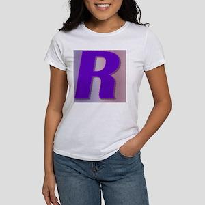 Purple R Monogram Women's T-Shirt