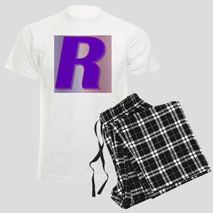Purple R Monogram Men's Light Pajamas