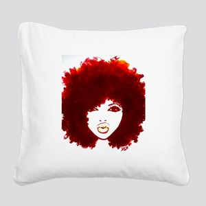 Diva Square Canvas Pillow