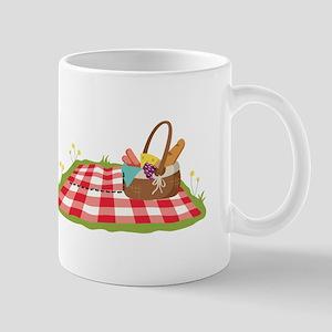 Picnic Basket Blanket Mugs