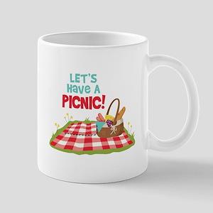 Lets Have A Picnic! Mugs