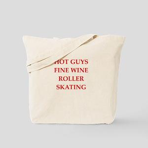 roller skating, Tote Bag