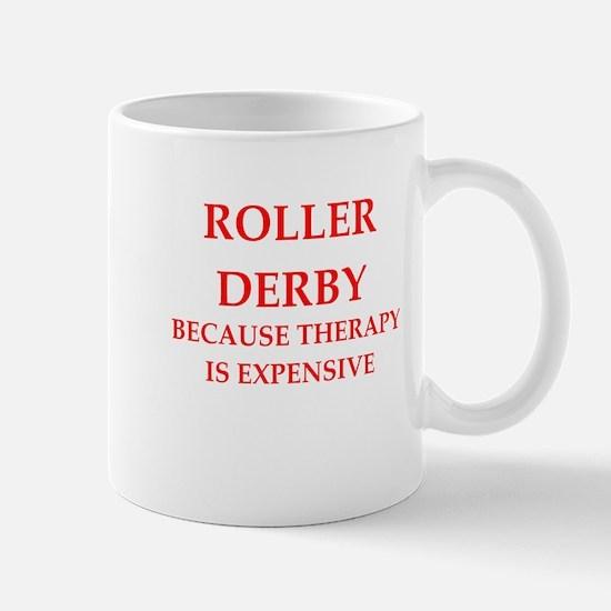 roller derby Mugs