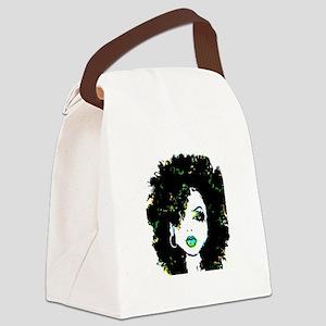Queen Bee Canvas Lunch Bag