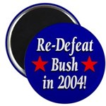 Re-Defeat Bush in 2004 Magnet (10 pack)