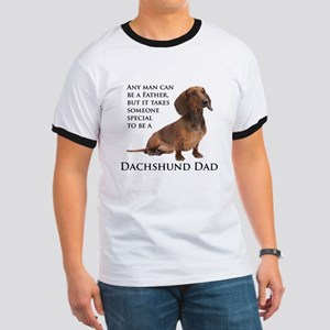 Dachshund Dad Ringer T