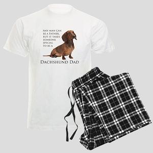 Dachshund Dad Men's Light Pajamas