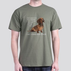 Dachshund Dad Dark T-Shirt