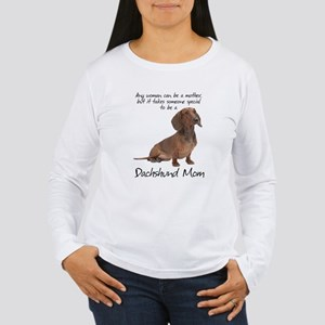 Dachshund Mom Long Sleeve T-Shirt