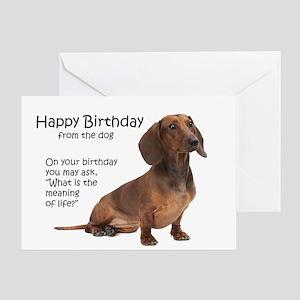 Dog Birthday Greeting Cards Cafepress