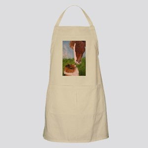 Sable Sheltie and Horse Apron