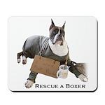 Rescue a Boxer Mousepad