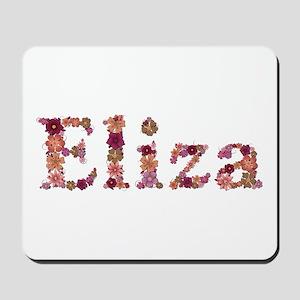Eliza Pink Flowers Mousepad
