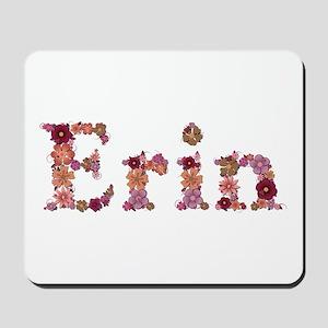 Erin Pink Flowers Mousepad